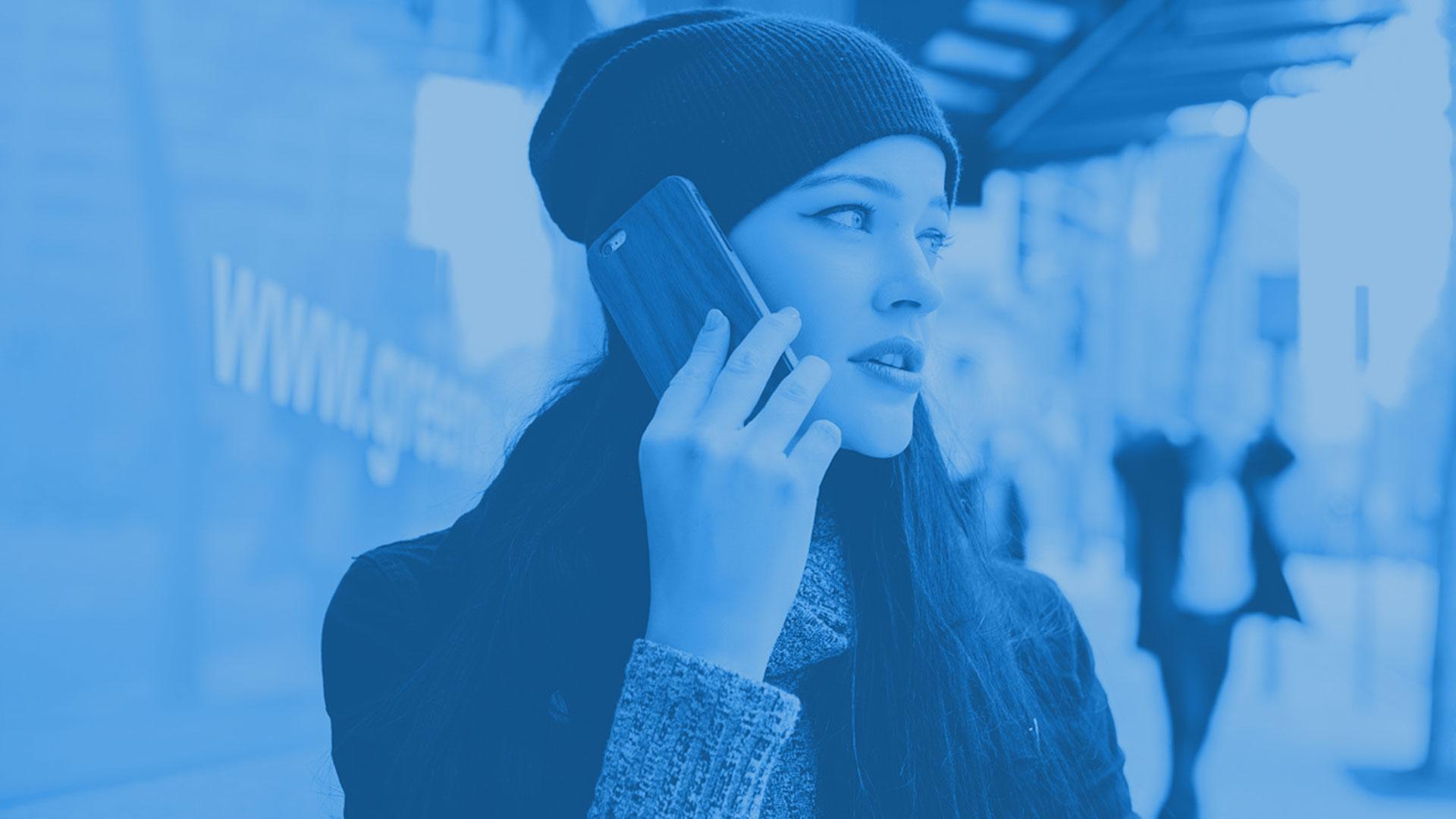 telecomunicaciones para empresas mujer movil