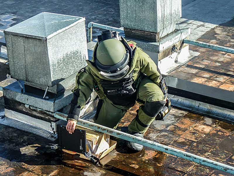 proteccion contra explosiones traje
